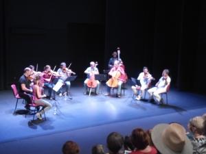 concert instrument à cordes